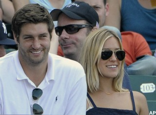 Jay Cutler's ex denies rumors she thought he faked injury