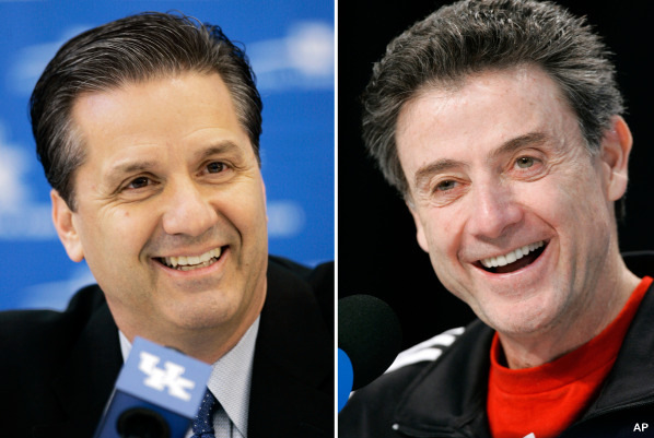 The war of words between Pitino and Calipari is getting good