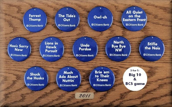 Promotional Penn State buttons removed after someone actually read them