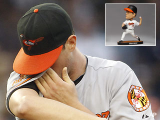 Demoted Brian Matusz could miss his bobble night in Baltimore