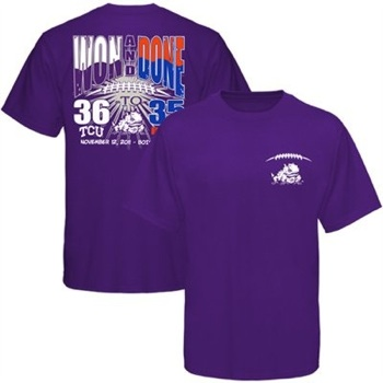 TCU commemorates Boise State victory with a smack-talk T-shirt