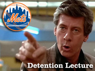 Detention Lecture: Your 2011 New York Mets