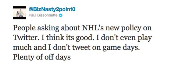 Inside the NHL's new social media policy for players