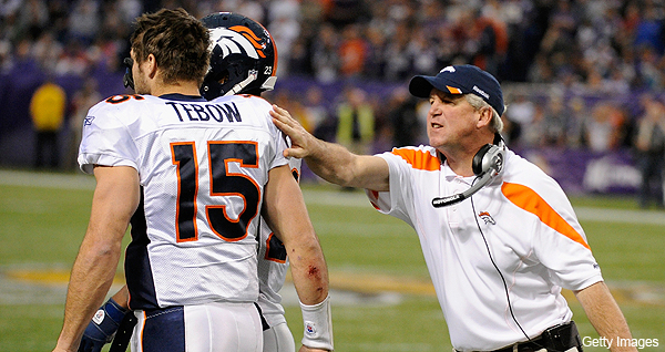 John Elway sets mixed messages aside, now vows to work with Tim Tebow in offseason