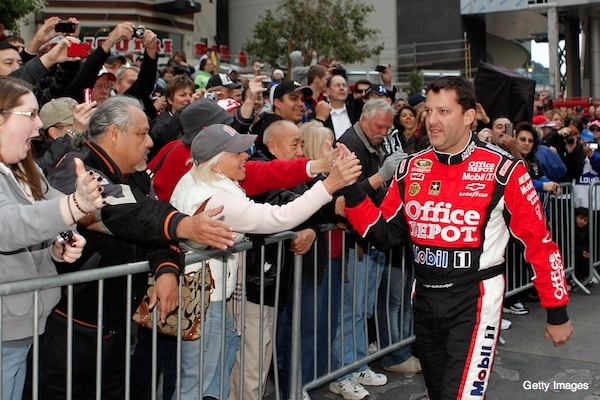 All he does is win: Tony Stewart wins Indy Karting Classic