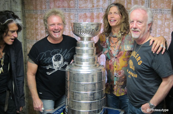 Chronicles of Stanley: Steven Tyler loving Cup, hospital surprises