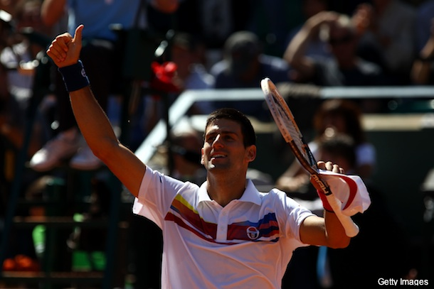 Djokovic is so hot he's already in the French Open semifinals