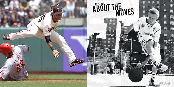 Brandon Crawford's nickname comes straight from street ball