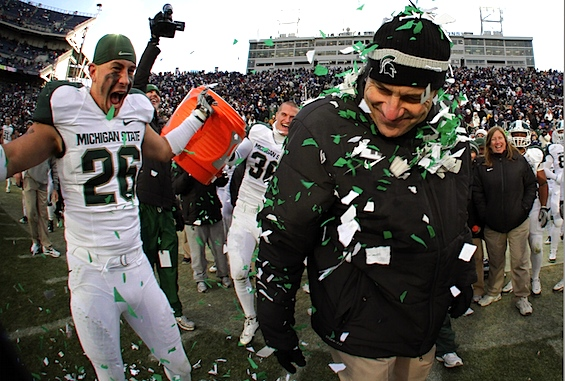 Debriefing: This time, Michigan State isn't sneaking up on anyone