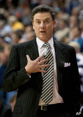 Rick Pitino uses worst possible analogy to condemn realignment