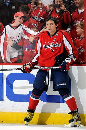 Alex Ovechkin on Sidney Crosby's return: 'Good for him'
