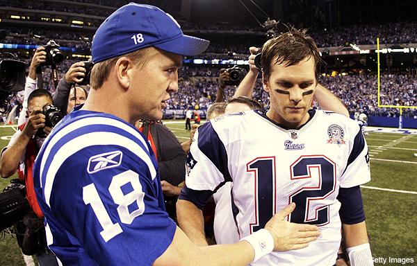 Tom Brady: 'It sucks' not seeing Peyton Manning on the field