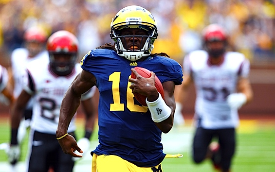 Reorientation: On second thought, Michigan is staying the course with Denard Robinson