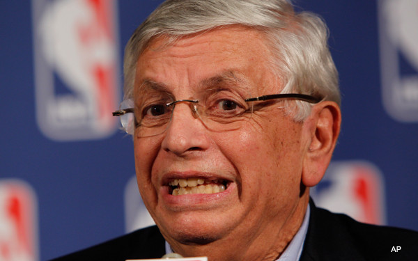 C-a-C: The secret of David Stern's power? He's half-dilophosaurus
