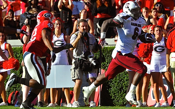 Superlatives: In which South Carolina's defense builds a bridge to the end zone