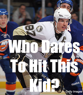 Reader Contest: Which NY Islander dares hit Sidney Crosby first?