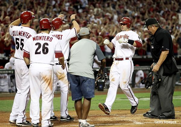 Former teammates in minors cheer Goldschmidt after slam