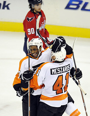 After losing Giroux, Flyers show they're not 1-man team