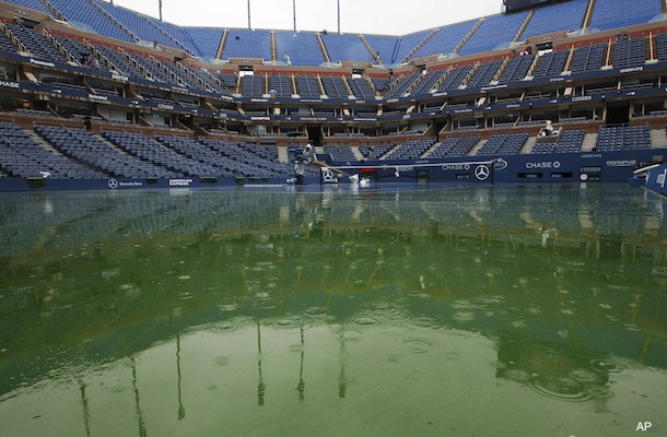 Who wins and loses with U.S. Open rain delays?