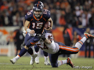 The Bears defense is thoroughly unimpressed with Tim Tebow