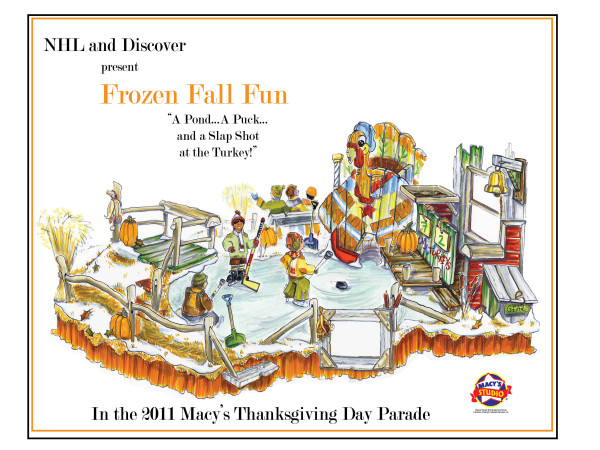 NHL float in Thanksgiving Day Parade: Your suggestions, please