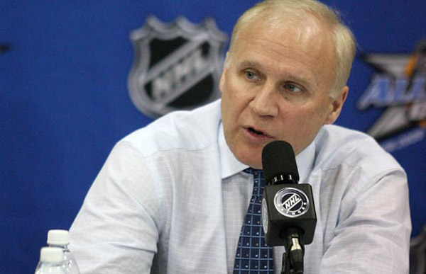 Puck Daddy chats with Brendan Shanahan about making suspension videos, Colin Campbell criticism and being new sheriff in town