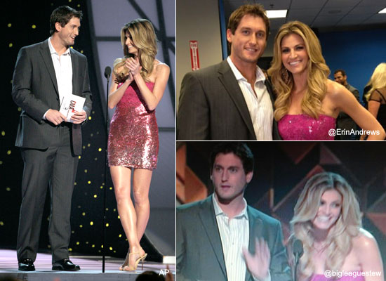 David Freese meets Erin Andrews in latest MVP tour stop
