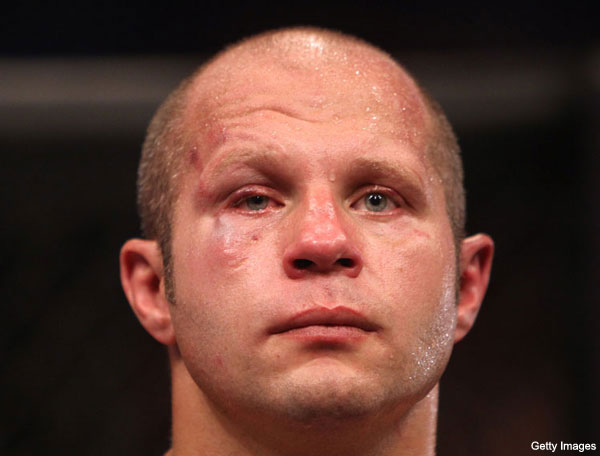 UFC begins process of cutting Fedor from Strikeforce; NYE show could be in Abu Dhabi