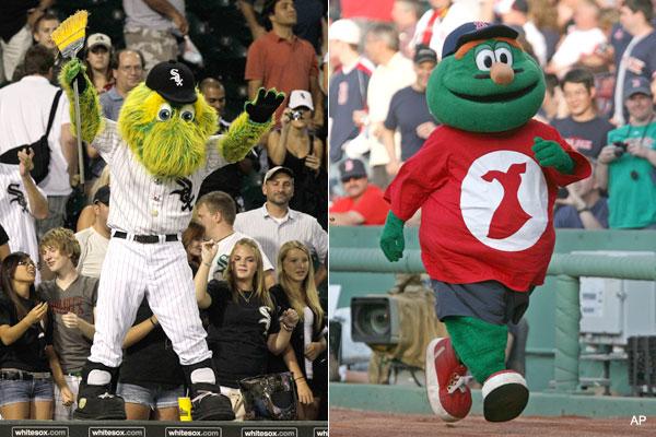 Mascot fail: Amarillo's stiff Sock sent back to wash