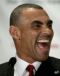 Herm Edwards gets evangelical at the Rookie Symposium