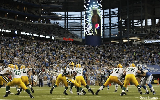 The eight best games in the second-half of the 2011 NFL season