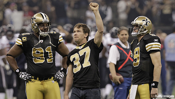 Former Saints DB Steve Gleason now battling ALS; team honors him in surprise tributes