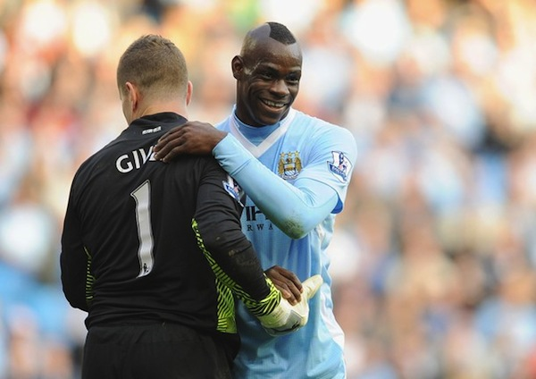Balotelli reportedly organizing Man City's Christmas party