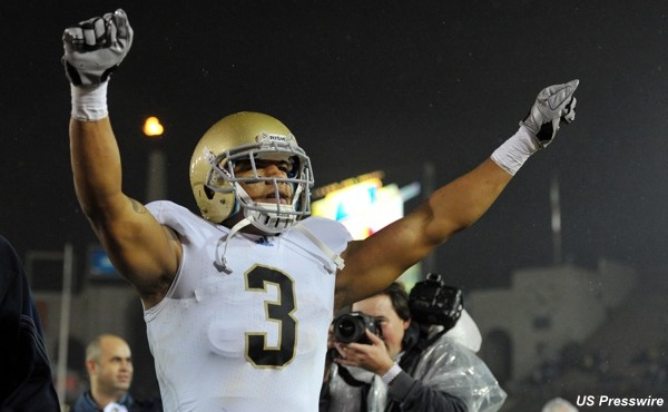 Michael Floyd can work out at Notre Dame, but he's still not on the team