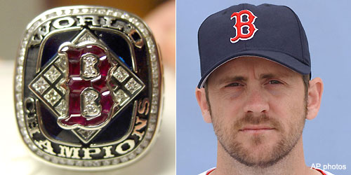 Scott Williamson puts his 2004 Red Sox ring up for sale