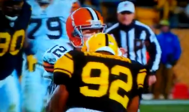 Headhunter: James Harrison flagged for vicious hit on Colt McCoy