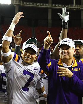 LSU lays low, then lays down the law in its formal SEC coronation