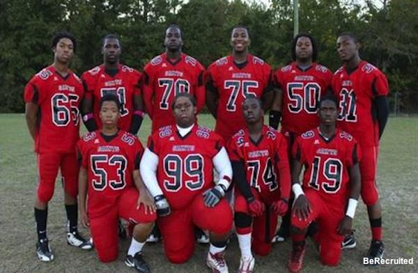 Calhoun County football team