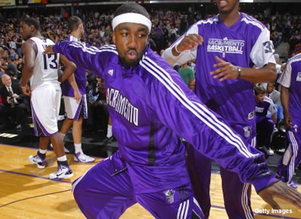 Sacramento Kings guard Donte Green