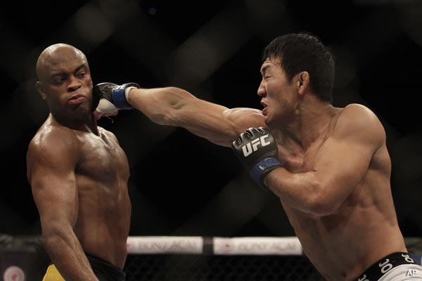 UFC 134′s Three Stars: Silva, Nogueira and Silva