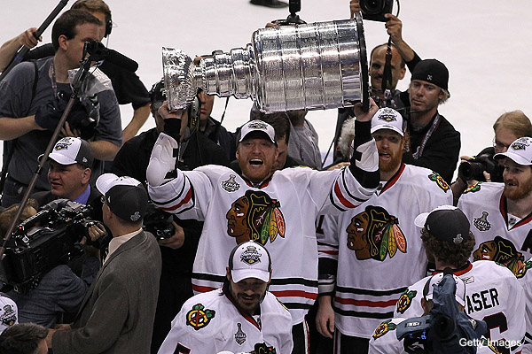 Who will be the 2nd player to lift Stanley Cup after Game 7?