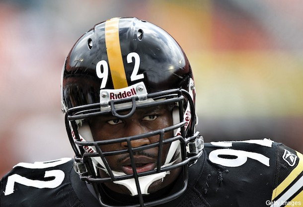 Fellow players say James Harrison is meanest guy in NFL