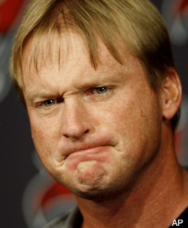Fake Jon Gruden on Monday night's epic Chargers-Jaguars game