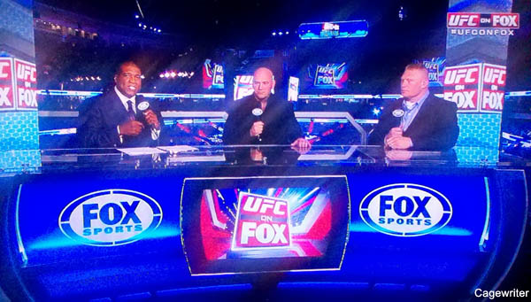 UFC on Fox: Judging the first network broadcast