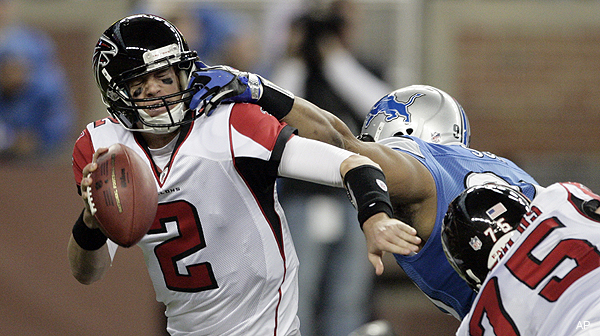 Lions deny taunting Matt Ryan when he was injured, cite Falcons' 'clip reel' in retort