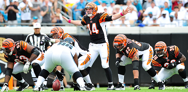 Andy Dalton now the franchise future for ascending Bengals