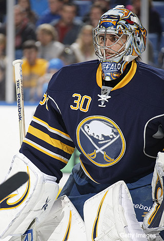 Ryan Miller isn't sure Milan Lucic concussed him anymore