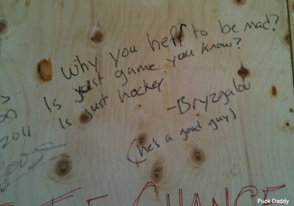 The greatest Ilya Bryzgalov reference of Vancouver Game 7 riots