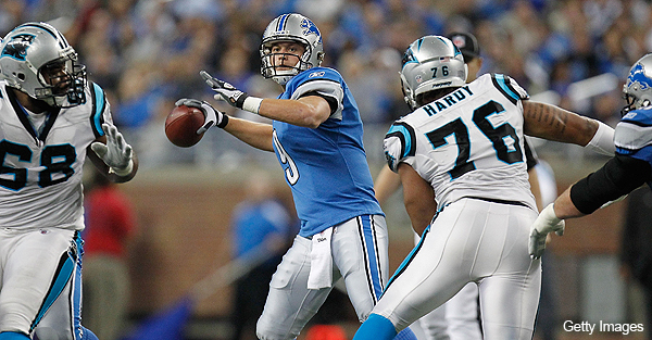 Stafford reverses form in a big way as Lions dominate Panthers