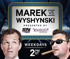 On Monday, Puck Daddy Radio returns daily as 'Marek vs. Wyshynski'